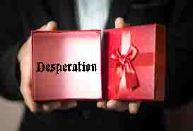 All In—The Gift of Desperation