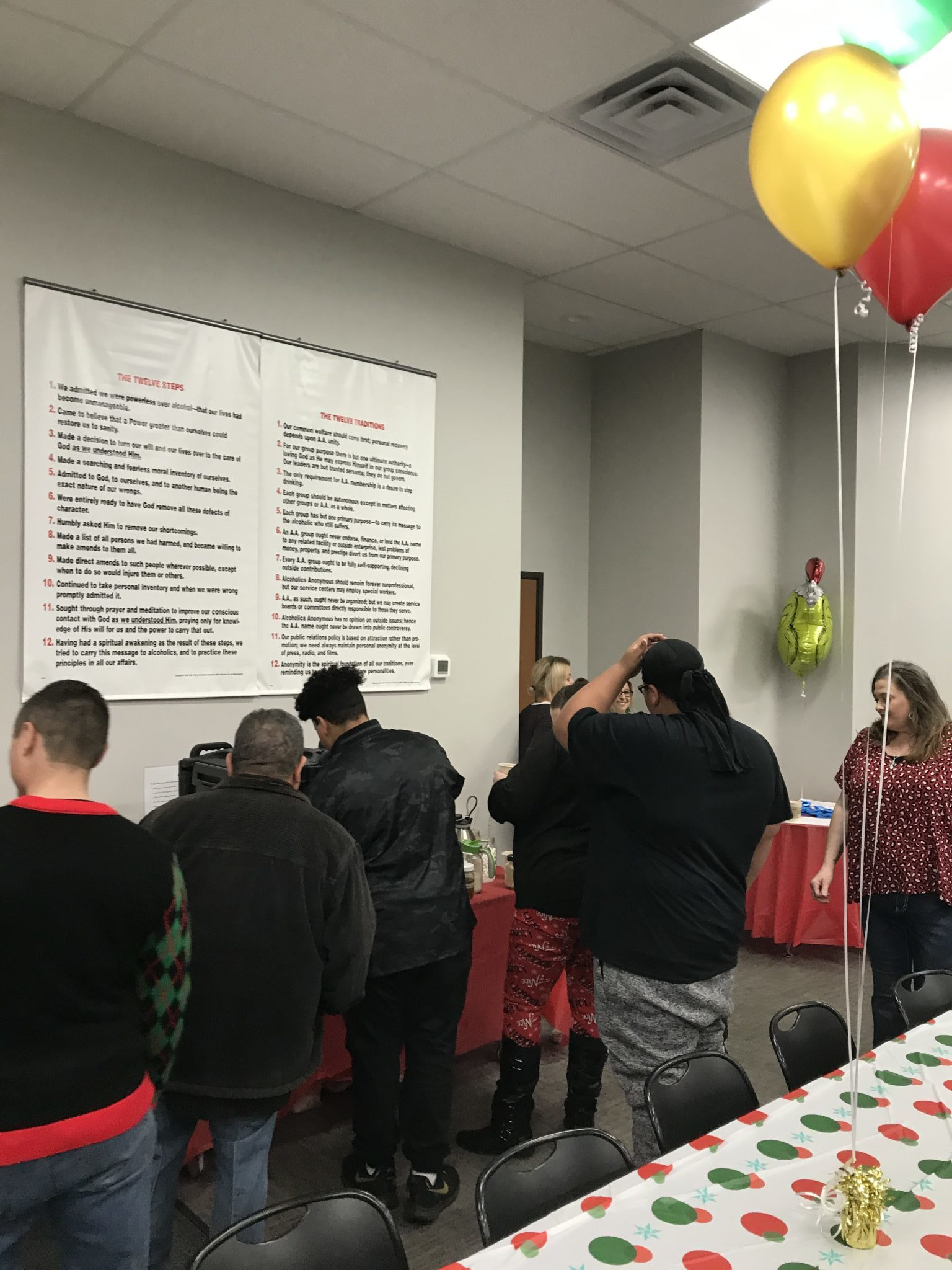 SONTX 2019 Christmas Party - Solutions of North Texas - Denton addiction services - transitional housing in DFW