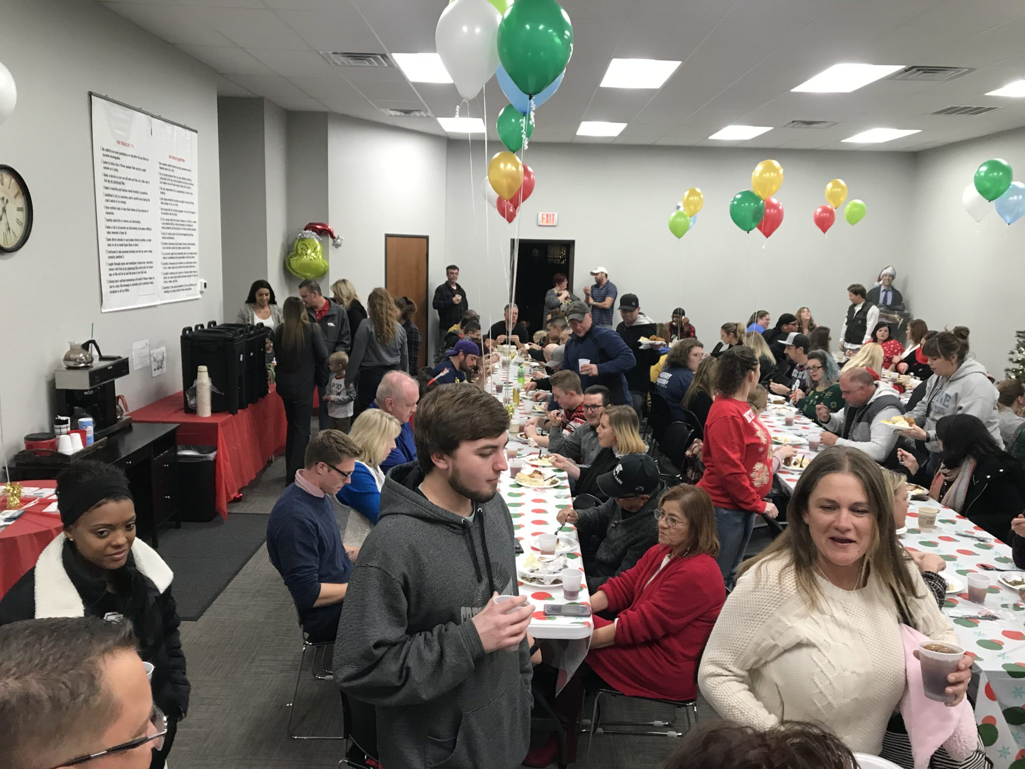 SONTX 2019 Christmas Party - Solutions of North Texas - Denton County Transitional Housing