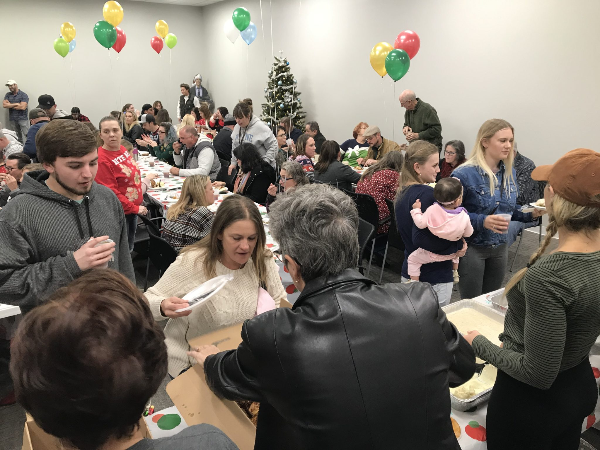 SONTX 2019 Christmas Party - Solutions of North Texas - DFW Sober Living - substance abuse counseling