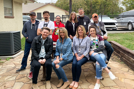 SONTX Staff group photo - Solutions of North Texas - Sober Living Denton County